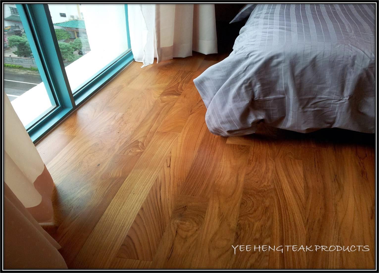 Burmese Teak Timber Flooring