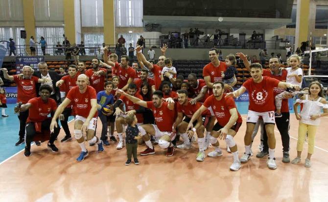 Benfica vencedor da Supertaça de Voleibol 2019