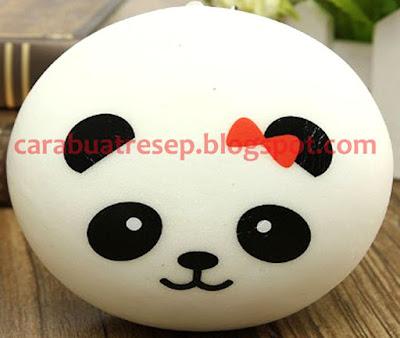Foto Cara Membuat Squishy Jumbo Panda Bun