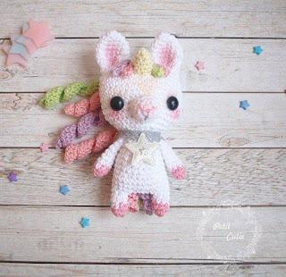 unicornio amigurumi | Amigurumi patrones gratis, Patrones ... | 310x320