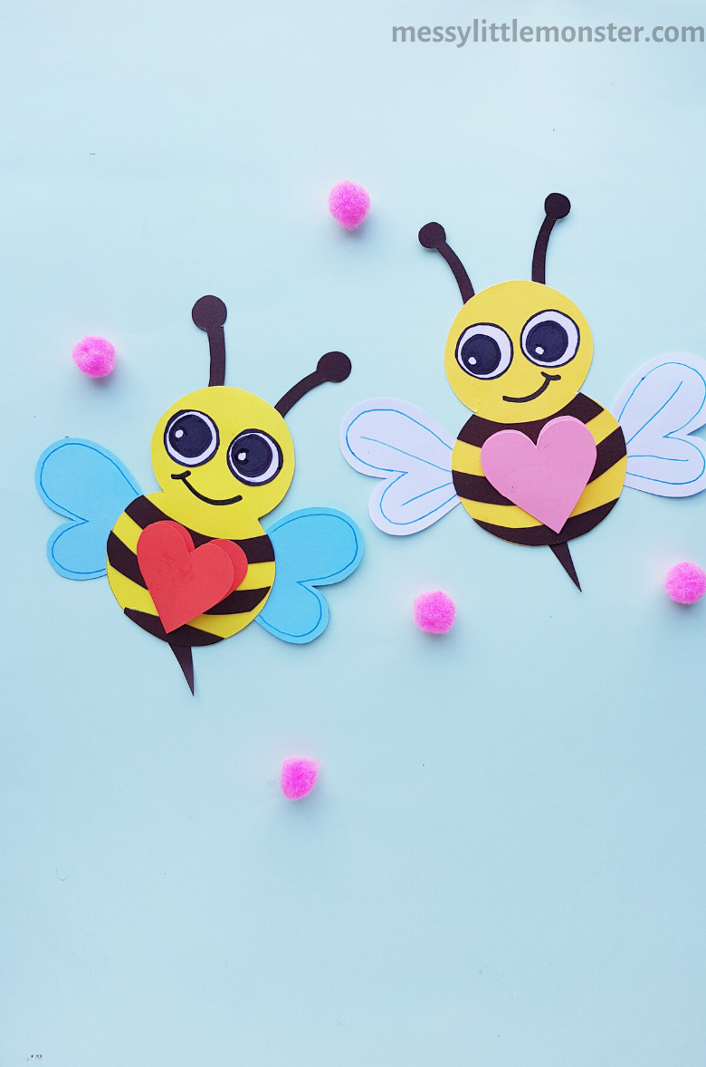 paper bee craft