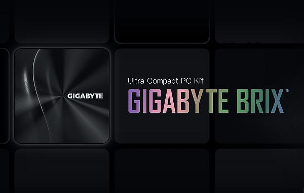 Gigabyte BRIX AMD RYZEN 4000