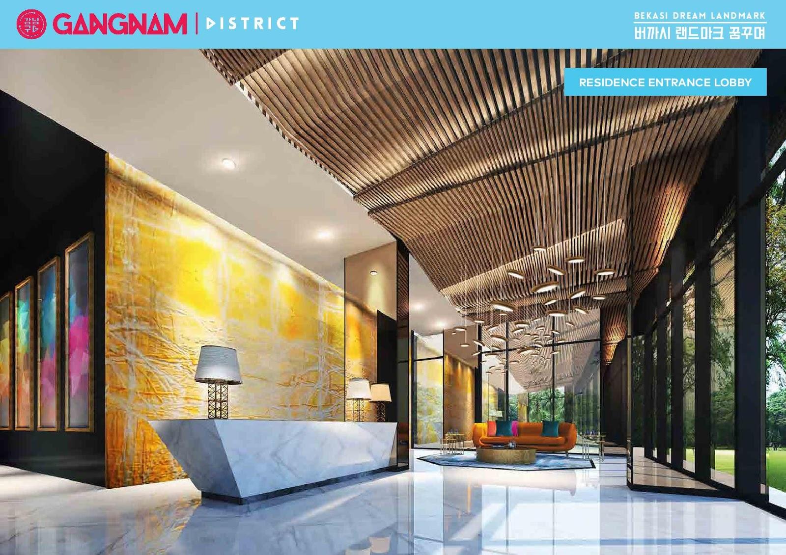 Galary Apartemen Gangnam District Bekasi
