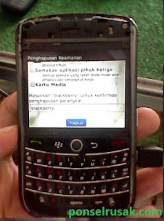 Tutorial do returns original settings on MY BB 9630.