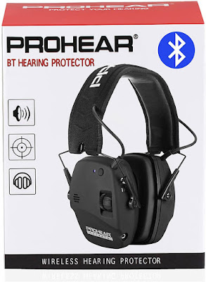 Noise Cancelling Hearing Protection With Bluetooth 2021