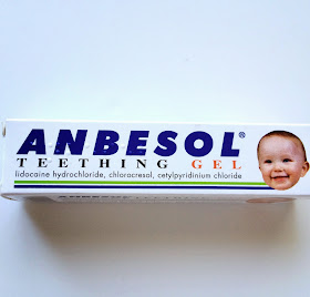 baby teething gel