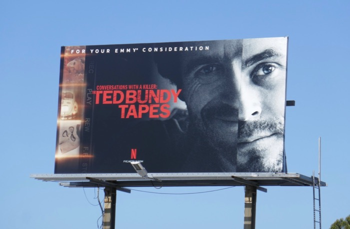 Ted Bundy Tapes 2019 Emmy FYC billboard