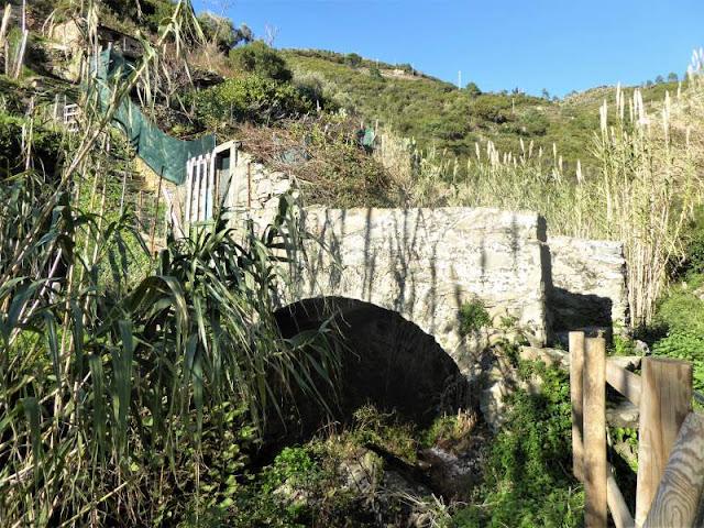 ponte sul rio finale a Riomaggiore