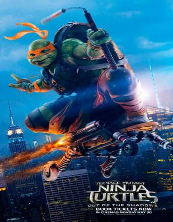 Teenage Mutant Ninja Turtles (2016) BRRip Dual Audio 480p 400MB