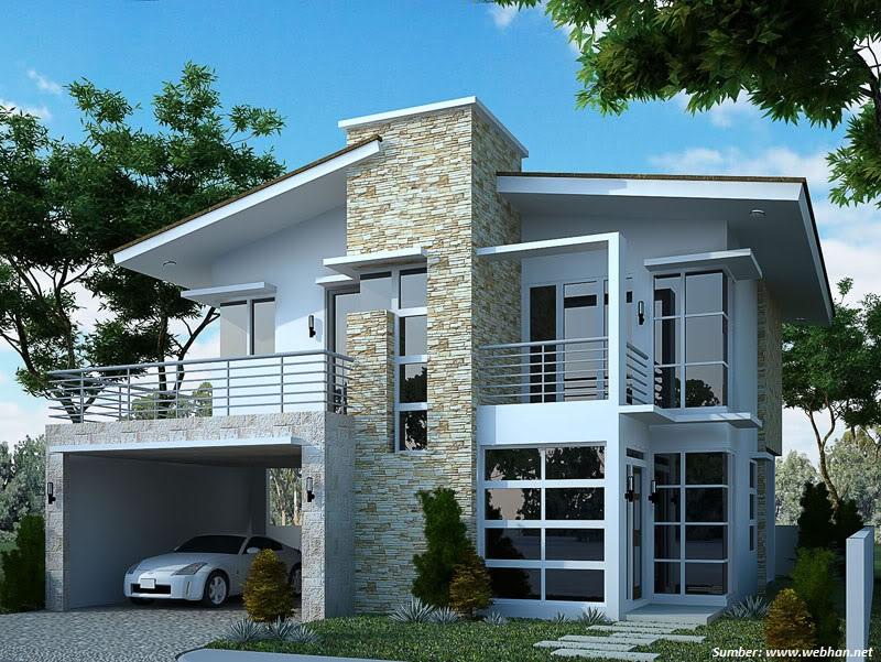 Gambar Rumah Dengan Kaca Sudut - Rumamu di