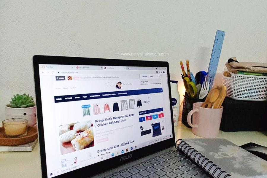 sign up blog, cara buat blog sendiri, buat duit dengan blog, update sehari satu entri, community blogger, blogging,