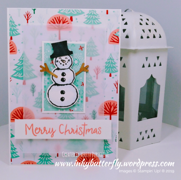 Nigezza Creates with Stampin Up and  Inky Butterfly & Snowman Season