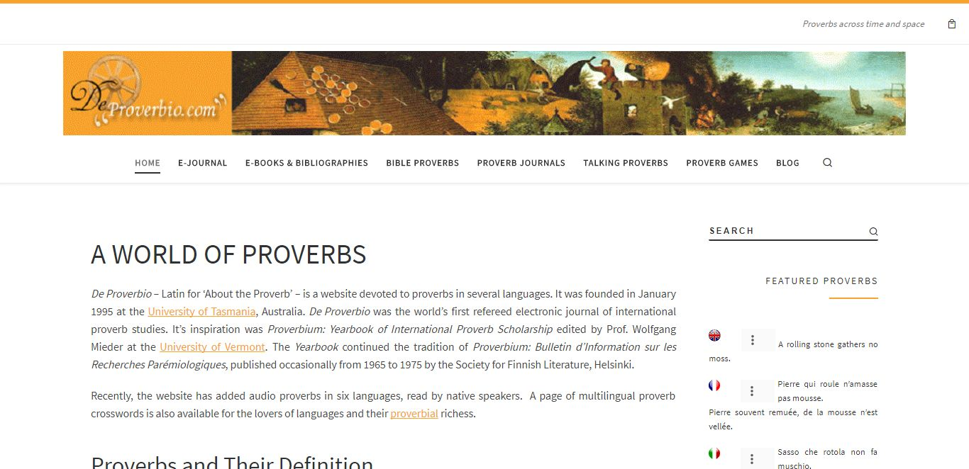 Deproverbio.Com By Abhinesh Tripathi