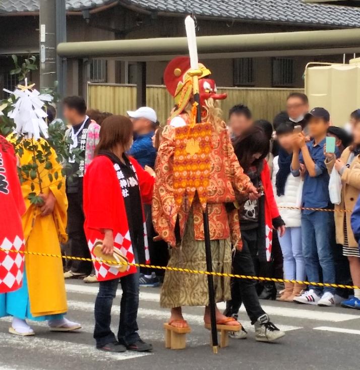 人文研究見聞録:田縣神社の豊年祭の猿田彦(サルタヒコ)