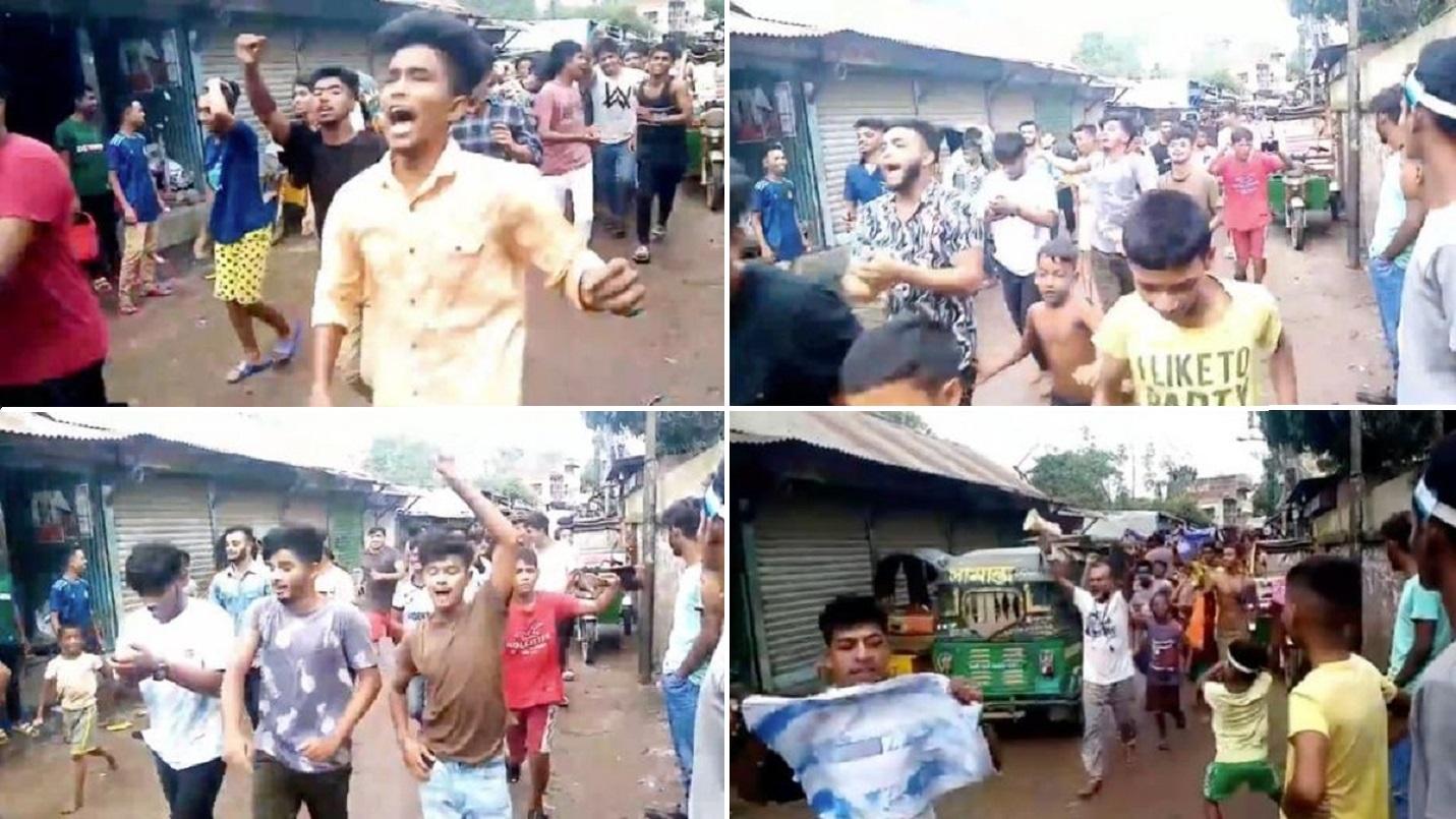 VIDEOS: Desde la Base Marambio hasta en Bangladesh se festejó el titulo de la Selección Argentina
