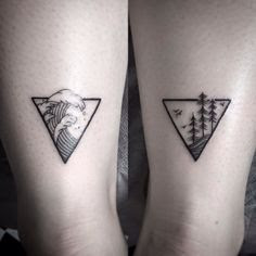Awesome Matching Tattoos For Couple