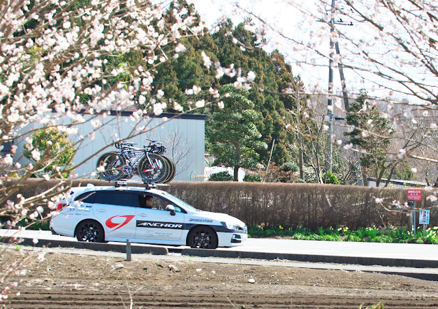 ブリヂストンアンカーのサポートカー スバル レヴォーグの写真