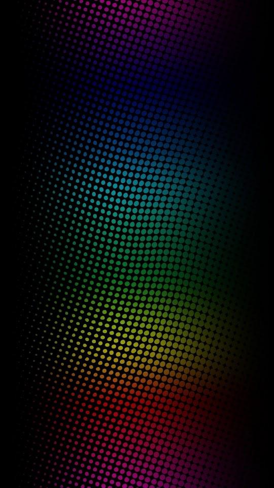Galaxy Note HD Wallpapers: Neon Light Dots Galaxy Note HD Wallpaper