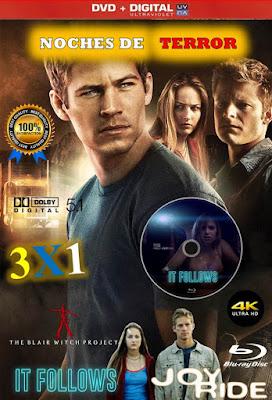 Noches De Terror 3X1 HD DVD LATINO