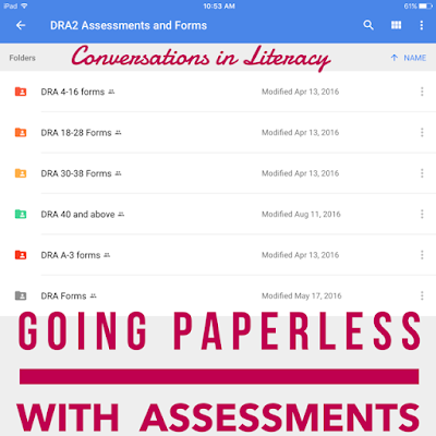 Going Paperless with your assessements