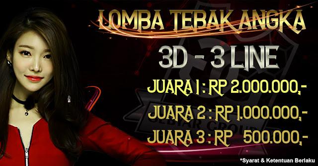 LOMBA 3D 3 LINE PASARAN SINGAPORE