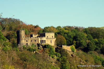 Le château de Chouvigny.