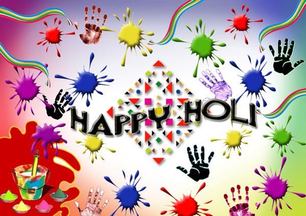 holi whats app dp