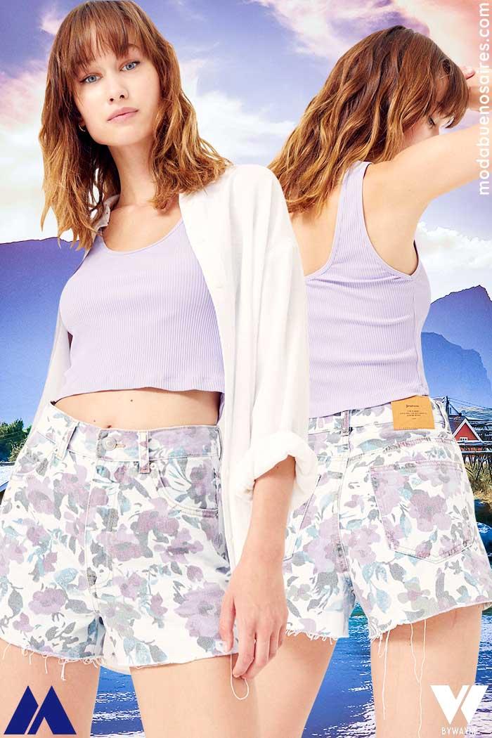 shorts mujer verano 2022 ropa de mujer