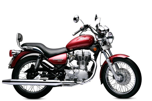 Royal Enfield Thunderbird 500 red color HD Images