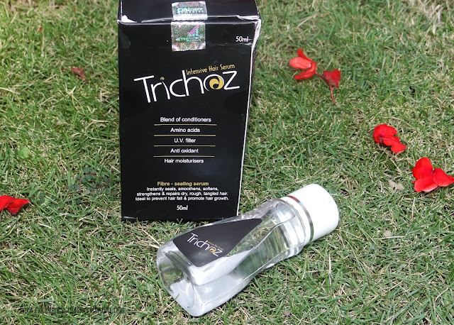 Ethicare Remedies Trichoz Intensive Hair Serum- Review, best hair serums in India, Indian beauty blogger