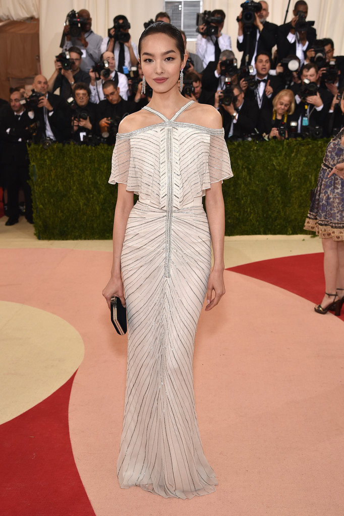 Fei Fei Sun at the 2016 MET Gala