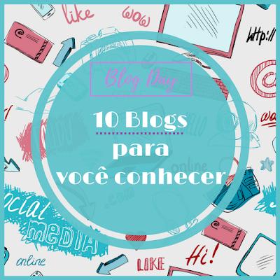 Capa do post: 10 blogs para voce conhecer