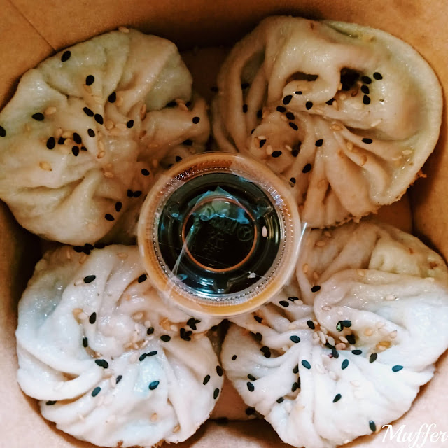 Linna Delivery - Shanghai Bao Vegano 蔬菜生煎馒头