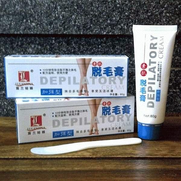 Depilatory Cream Penghilang Bulu