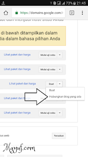 Cara Custom/Setting Domain Di Google Domains Ke Blogger