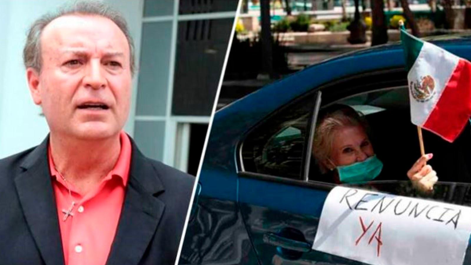 Gente de FRENA y Gilberto Lozano ofrecen tanque lleno a quien se una contra AMLO