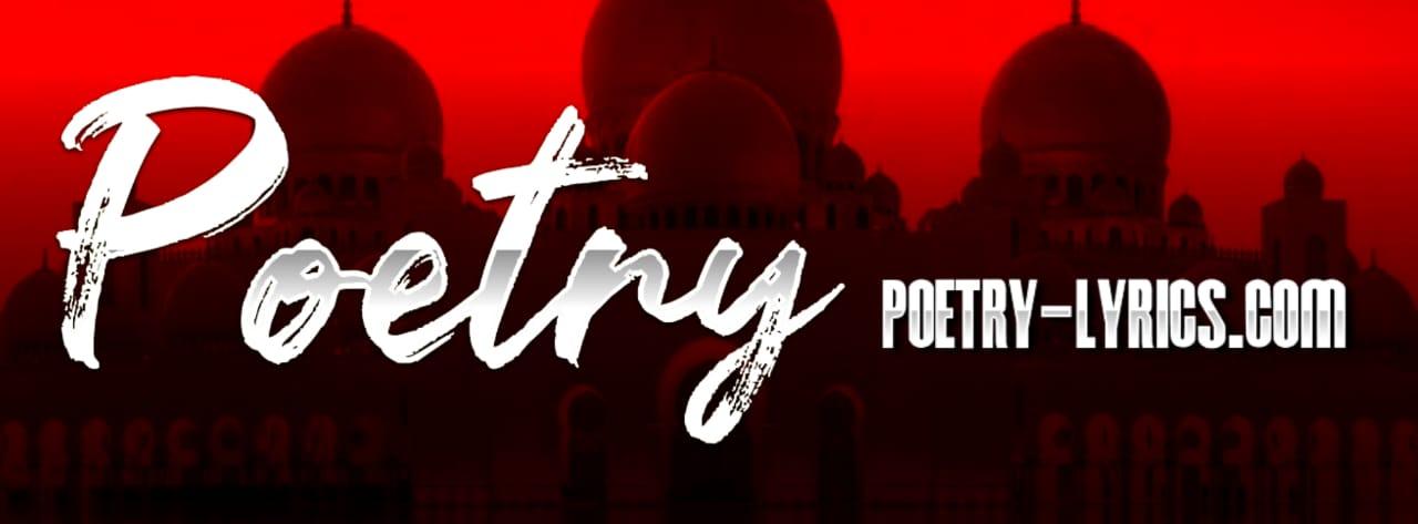 Poetry Lyrics urdu poetry
