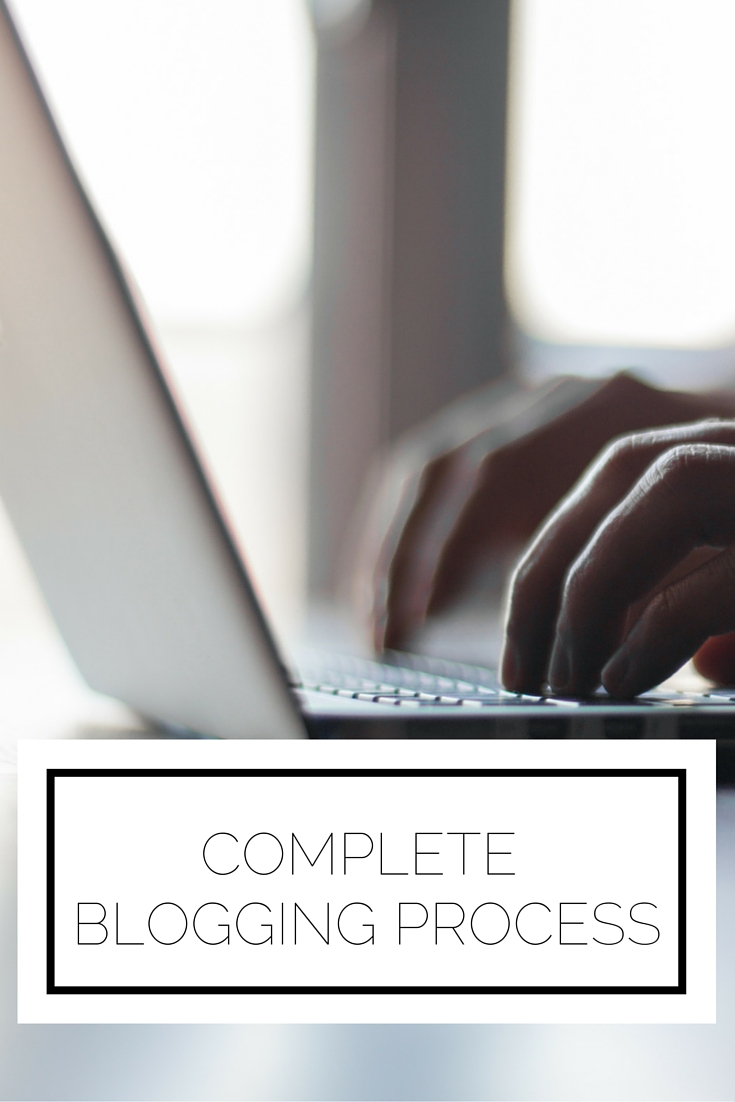 Complete Blogging Process