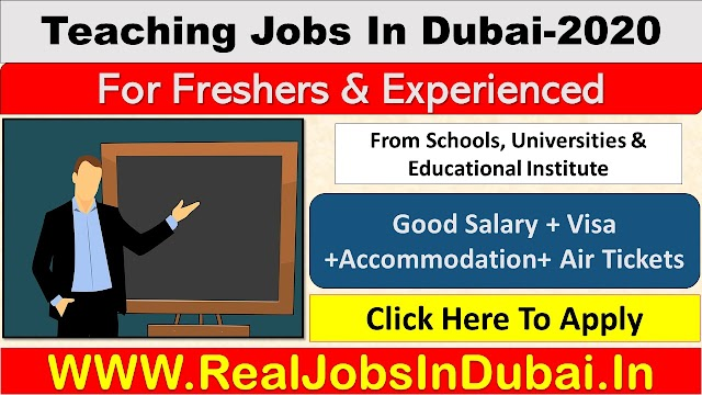 Teaching Jobs In Dubai , Abu Dhabi & Sharjah - UAE