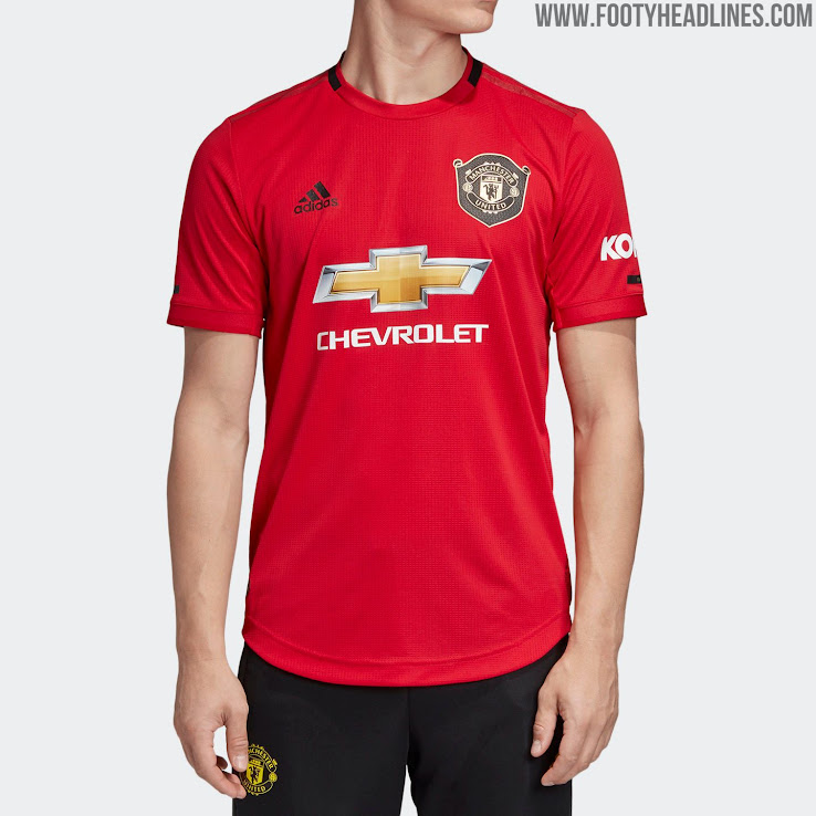 san francisco 81b82 f5363 Manchester United 19-20 Home Kit Released - Footy Headlines