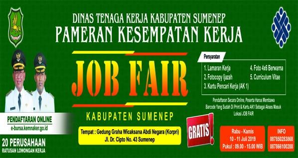 Job Fair Sumenep Jawa Timur