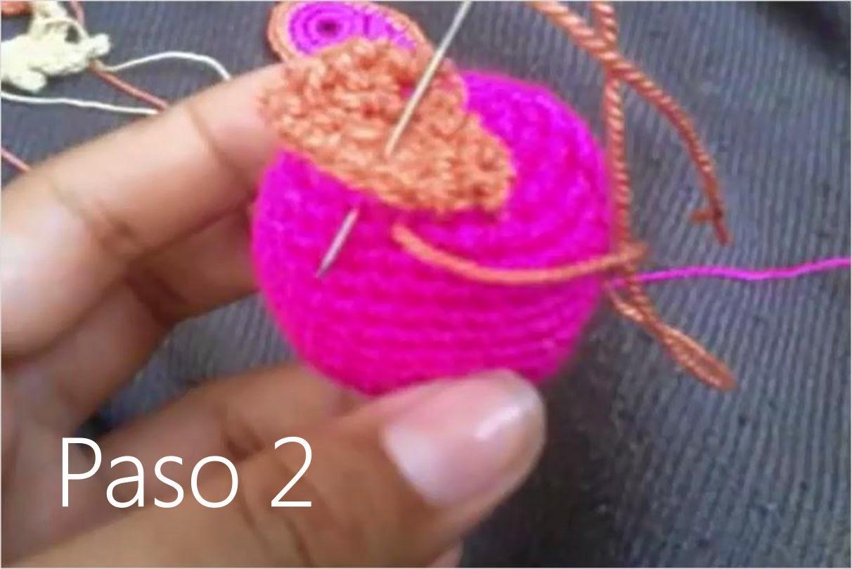 Buho Amigurumi a Crochet Paso 2