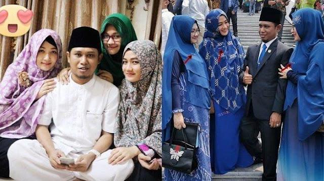Lora Fadil Bawa 3 Istri ke Pelantikan DPR: Kami Nginap Sekamar