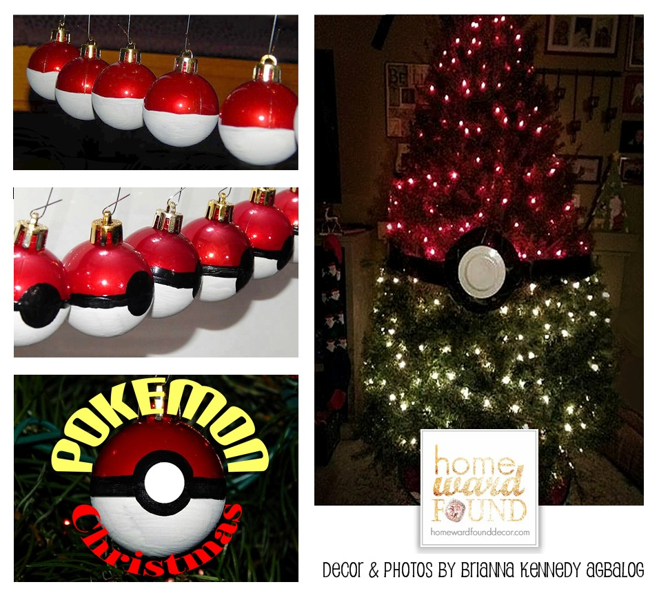 a POKEMON Christmas Tree! homewardFOUND decor