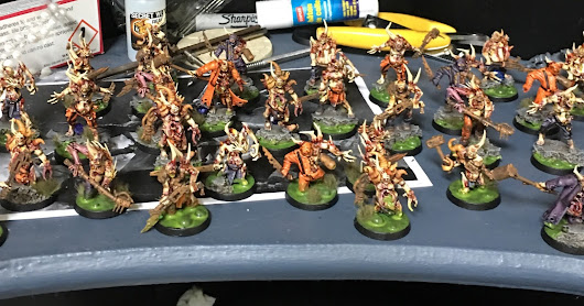 60 Poxwalkers done in a week!