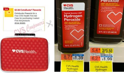 free frist aid kit case cvs