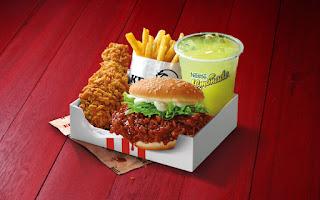 Harga Burger Banjir KFC