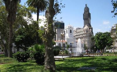 Plaza del Cabildo de Buenos Aires