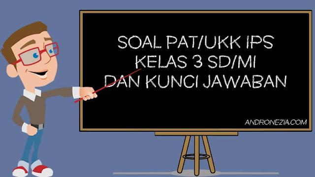 Soal PAT/UKK IPS Kelas 3 Tahun 2021