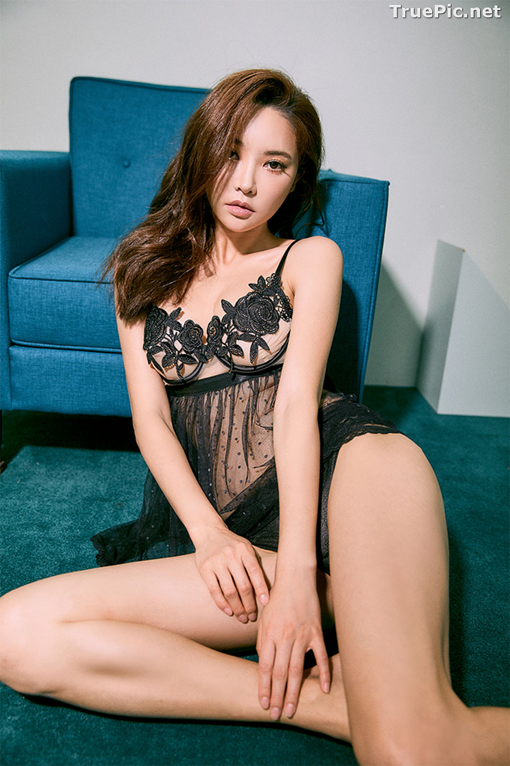 Image Korean Fashion Model – Park Soo Yeon (박수연) – Come On Vincent Lingerie #1 - TruePic.net - Picture-1